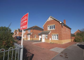 Thumbnail 3 bed detached house for sale in Megson Drive, Lee-On-The-Solent