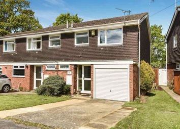 Thumbnail 3 bed semi-detached house for sale in Bracken Road, North Baddesley, Southampton