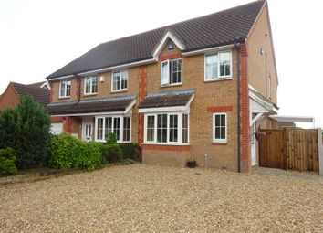 Thumbnail 3 bedroom property to rent in Radcliffe Road, Thorpe Marriott, Norwich