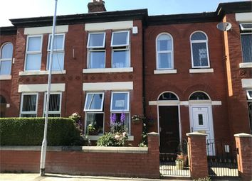 Thumbnail 3 bed terraced house for sale in Wellington Grove, Stockport, Cheshire