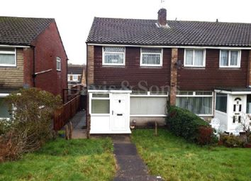 Thumbnail 3 bed end terrace house for sale in Pilton Vale, Malpas, Newport.