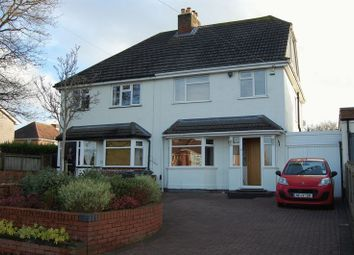 Thumbnail 3 bed semi-detached house for sale in Bowling Green Lane, Albrighton, Wolverhampton