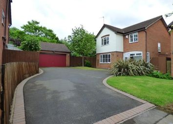 Thumbnail 4 bed detached house for sale in Trojan Way, Syston, Leicester, Leicestershire