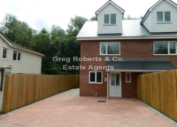 Thumbnail 3 bed semi-detached house for sale in Plymouth Arms Cottages, Merthyr Road, Tredegar