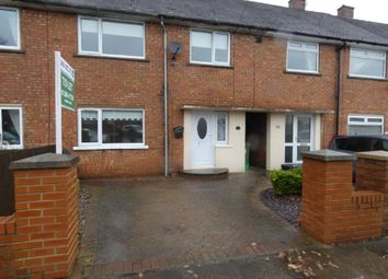 Thumbnail 3 bed terraced house to rent in Wood Vue, Spennymoor