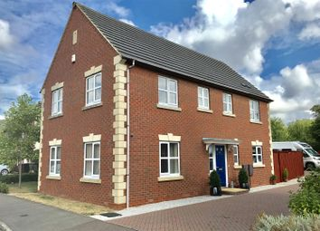 Thumbnail 4 bed detached house for sale in Houghton Close, Asfordby Hill, Melton Mowbray