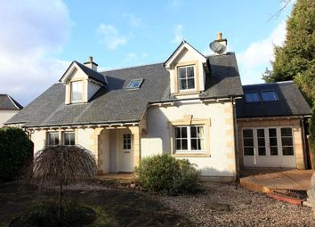 Thumbnail 4 bedroom detached house for sale in Mill Road, Crieff