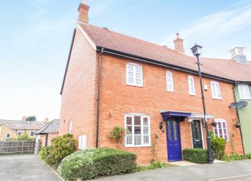 Thumbnail 2 bedroom end terrace house for sale in Dove House Drive, Henlow