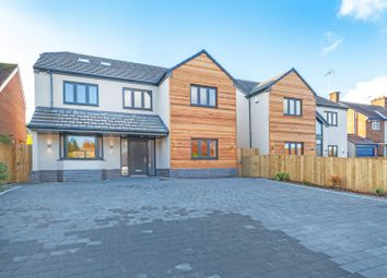 Thumbnail 5 bed detached house for sale in Fairefield Crescent, Glenfield, Leicester