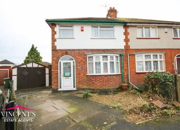 Thumbnail 3 bed semi-detached house for sale in Edith Avenue, Leicester