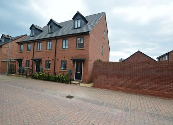 Thumbnail 3 bed terraced house for sale in Duddell Street, Lawley Village, Telford