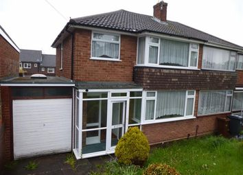 Thumbnail 3 bedroom semi-detached house for sale in Camberley Crescent, Wolverhampton