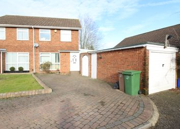 Thumbnail 4 bed semi-detached house for sale in Gareth Close, Worcester Park