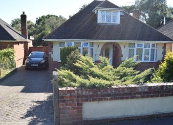 Thumbnail 3 bed detached bungalow to rent in Evering Avenue, Parkstone, Poole