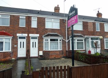 Thumbnail 2 bedroom terraced house for sale in Glebe Road, Hull
