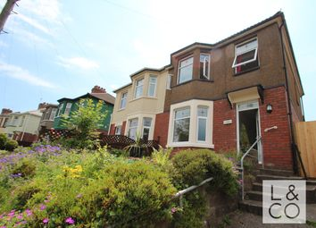 Thumbnail 3 bed semi-detached house to rent in St Julians Road, Newport