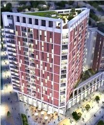 Thumbnail 1 bed flat for sale in Discovery Tower, Hallsville Quarter
