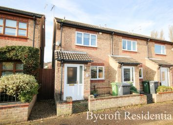 Thumbnail 2 bed end terrace house for sale in Burgess Close, Caister-On-Sea, Great Yarmouth