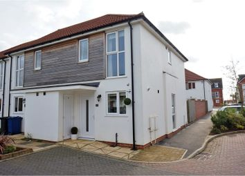 Thumbnail 2 bed semi-detached house for sale in Wesley Road, Cherry Willingham, Lincoln