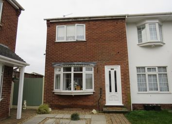 Thumbnail 2 bed end terrace house for sale in Hamilton Drive, Warsop, Mansfield