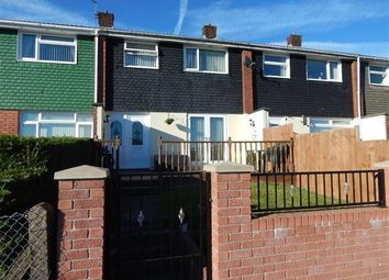 Thumbnail 3 bed terraced house for sale in Gurnos Estate, Brynmawr