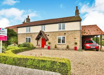 Thumbnail 3 bedroom detached house for sale in The Street, Gooderstone, King's Lynn