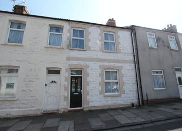 Thumbnail 3 bed terraced house for sale in Daniel Street, Barry