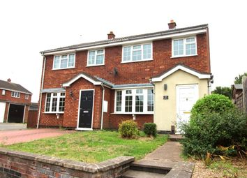 Thumbnail 3 bed semi-detached house for sale in The Beeches, Earl Shilton, Leicester
