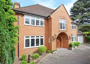 Thumbnail 5 bed detached house to rent in Burwood Park Road, Walton On Thames
