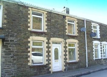 Thumbnail 2 bedroom terraced house to rent in Colly Row, Bedlinog, Treharris