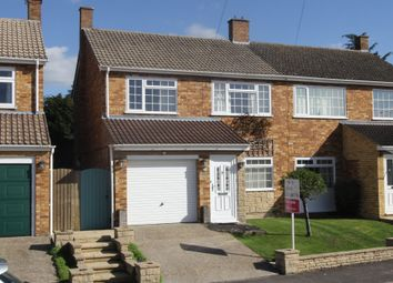 Thumbnail 3 bedroom semi-detached house for sale in Baronshurst Drive, Chalgrove, Oxford