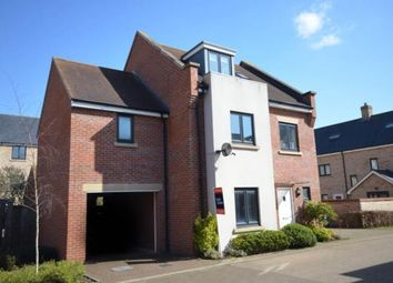 Thumbnail 4 bed town house for sale in Aster Way, Cambridge