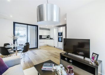 Thumbnail 1 bed flat for sale in Larkhall Rise, London
