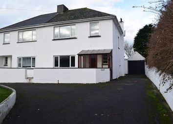 Thumbnail 3 bed semi-detached house for sale in Mount Carbis Road, Redruth