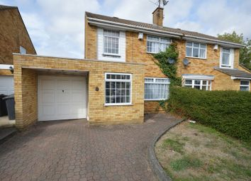 Thumbnail 3 bed semi-detached house for sale in Liston Close, Luton