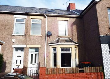 Thumbnail 4 bed terraced house to rent in Cromwell Road, Newport