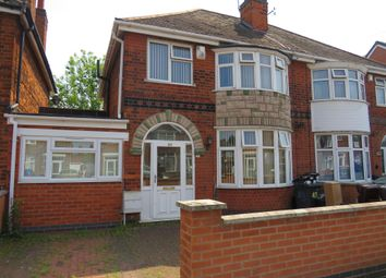 Thumbnail 3 bed semi-detached house for sale in Staveley Road, Evington, Leicester