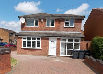 Thumbnail 4 bedroom detached house to rent in Middle Leaford, Birmingham