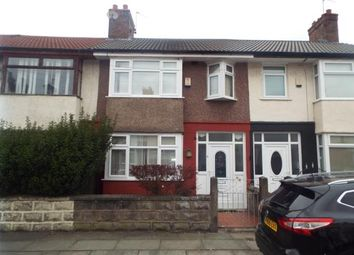 Thumbnail 3 bed terraced house for sale in Gorton Road, Liverpool, Merseyside, England