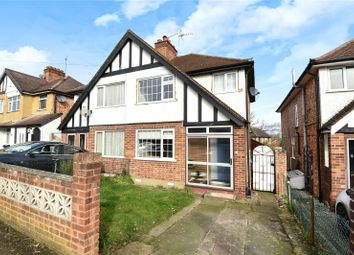 Thumbnail 3 bed semi-detached house for sale in Misbourne Road, Uxbridge, Middlesex
