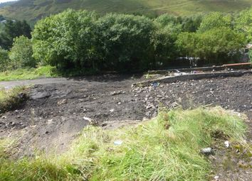 Thumbnail Land for sale in High Street, Gilfach Goch, Porth