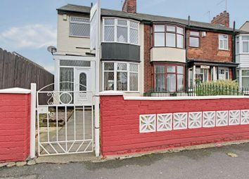 Thumbnail 3 bed terraced house for sale in Hessle Road, Hull