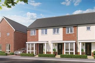 Thumbnail 2 bedroom end terrace house for sale in Beggarwood Lane, Basingstoke