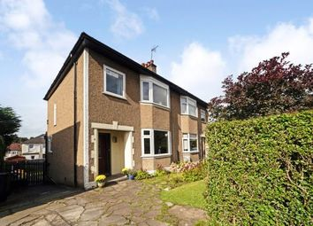 Thumbnail 3 bed semi-detached house for sale in Hillfoot Avenue, Bearsden, Glasgow, East Dunbartonshire