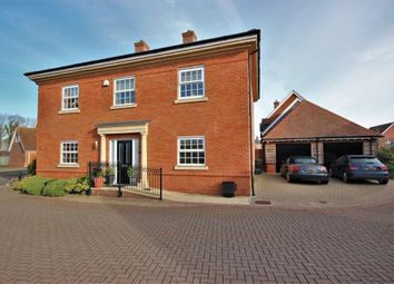 Thumbnail 4 bed detached house for sale in Stevenson Close, East Hanney, Wantage