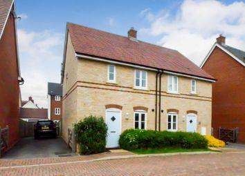 Thumbnail 3 bed semi-detached house for sale in Santa Maria Lane, Bletchley, Milton Keynes