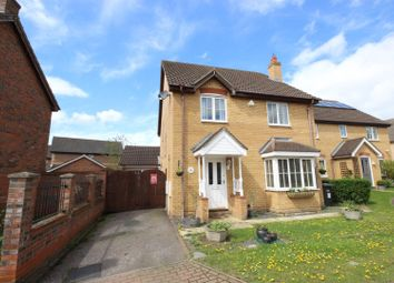 Thumbnail 4 bed detached house for sale in Thor Drive, Bedford