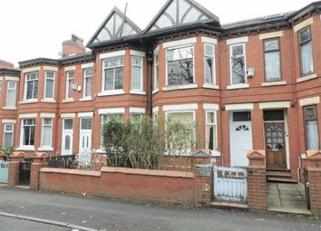 Thumbnail 3 bed terraced house for sale in East Road, Longsight, Manchester