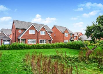 Thumbnail 3 bed semi-detached house for sale in Dale Close, Saighton, Chester