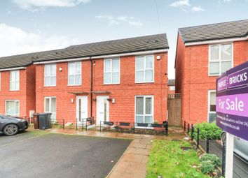 Thumbnail 3 bedroom semi-detached house for sale in Granville Street, Wolverhampton
